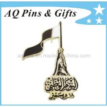 Insigne de badge en métal pour Qatar National Pin (badge-028)
