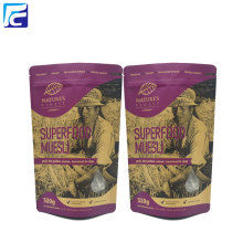 Food Grade Kraft Paper Bag For Flour 1kg