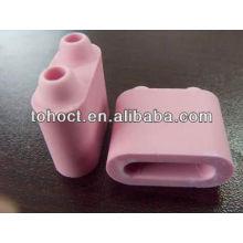Ceramic beads for heater