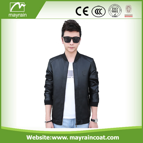 Cheap Men PU Jacket