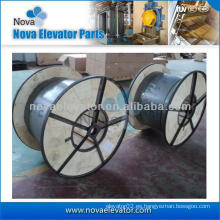 Elevador piezas tipo cable de viaje, cable de cable de elevación, cable plano de grúa