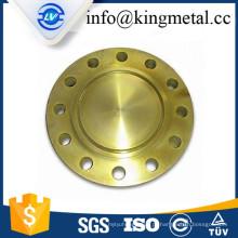 Flange de solda de soquete padrão DIN de aço-carbono