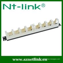 19 pulgadas de cable de alambre de plástico para el panel de parche RJ11