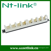 19inch plastic wire manager for RJ11 patch panel