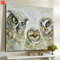 The Owl And Its Family Canvas Prints