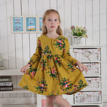 Girls Fall Boutique 100% Cotton Dress