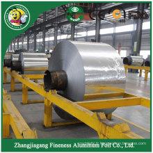 Rouleaux de film en plastique professionnels adaptés aux besoins du client de papier d'aluminium de nourriture