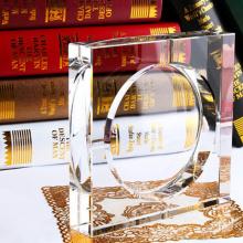 Cinzeiro de cristal claro de alta qualidade, terrário de vidro exclusivo para fumar charutos, para escritórios