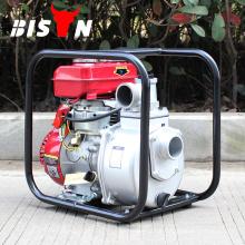 BISON CHINA TaiZhou 60M3 / h Benzin Kleine 3inch Hand Honda Kerosin Wasserpumpe