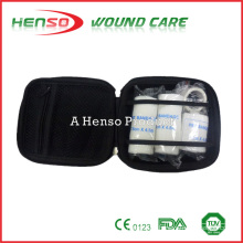 HENSO Waterproof Nylon Black First Aid Kit