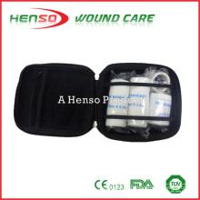 HENSO Waterproof Nylon Black Kit de Primeiros Socorros