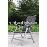 wicker 6-position adjustable chair