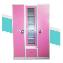 3 door steel clothes storage Bedroom almirah design with price