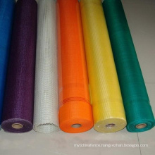Multicolor Inset Fiberglass Window Screen
