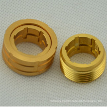 aluminum nuts Precision CNC Machining aluminum nut