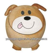 new type plush dog inflatable stool