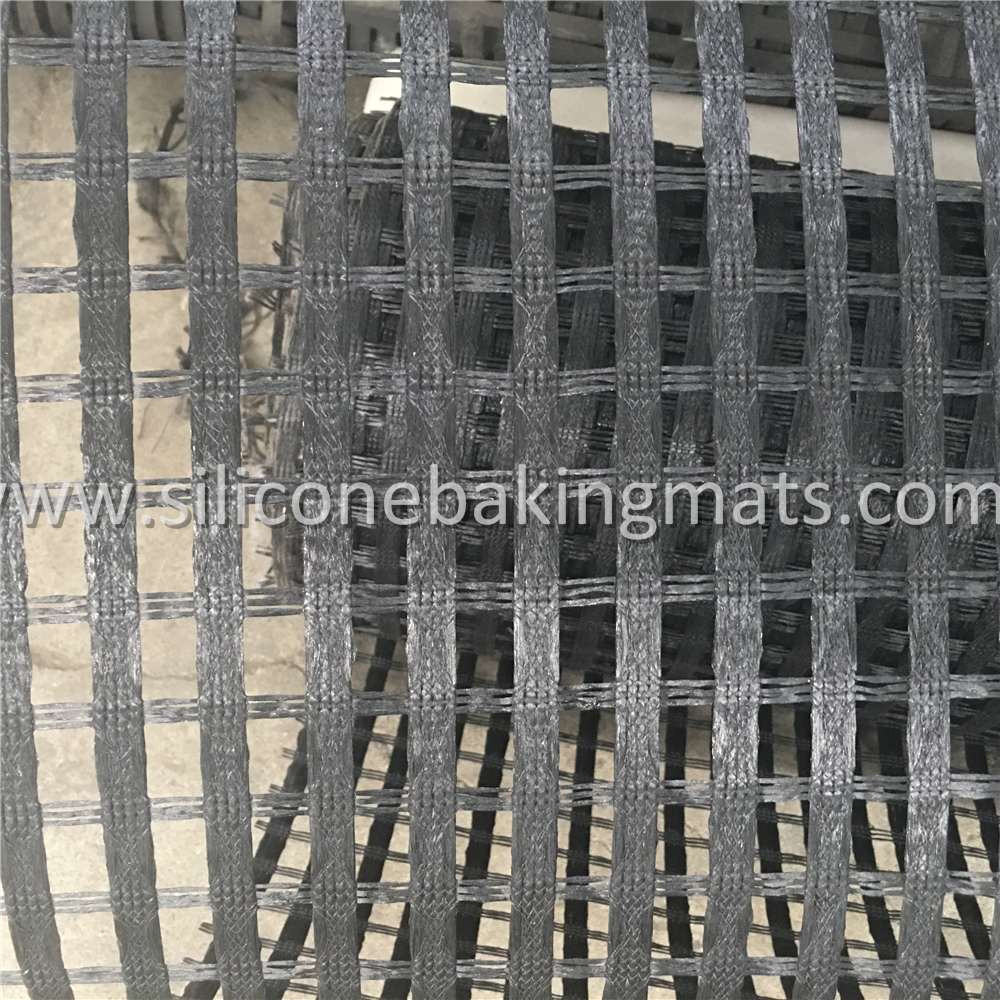 Uniaxial Polyester Geogrids