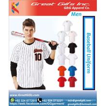 latest design breathable sublimation baseball uniform