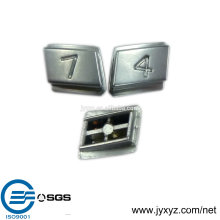 Shenzhen OEM zinc alloy with plating surface doorbell push button switch