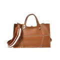 Senhoras Top Handle Messenger Bags Elegante Tote Satchel