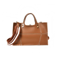 Ladies Top Handle Messenger Väskor Klassisk Tote Satchel