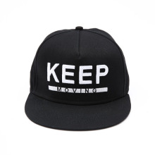 Custom 3D Embroidered Cotton Cap Snapback Cap