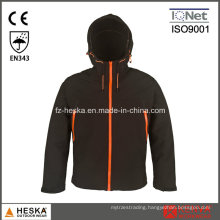 Affordable Outdoor Hooded Softshell Jacket