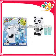 Cartoon panda design bubble machine full automation bubble toy electric bubble machine bubble machine