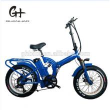 20 Inch Bafang 1000W Ebike Folding Full Suspension Fat Tire Electric Bike