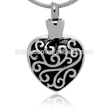 Vintage Collection Cremation Ashes Urn Necklace para hombres y mujeres