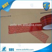 Quality Promise Tamper Evidente Segurança Tape Open Void tape tamper evidente selos