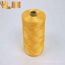 3 brins 3ply Coton PP Polyester tordu la ficelle de la corde