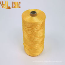 3 strands 3ply Cotton PP Polyester twisted baler rope twine
