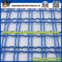 Decorativos de alta calidad de acero inoxidable de malla de alambre prensado