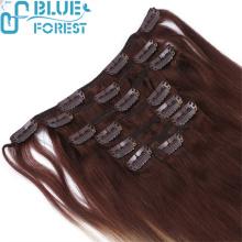 Aliexpress Brazilian Hair Top Grade Clip In Hair 100% Brazilian Human Hair