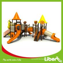 Billig Outdoor Kunststoff Kinder Dschungel Gym der alten Stadt LE.CB.006