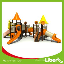 Cheap Outdoor Plastic Children Jungle Gym of Ancient City LE.CB.006