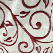 Tejidos de algodón Coral Fleece Flannel Tela de impresión de flores cortadas
