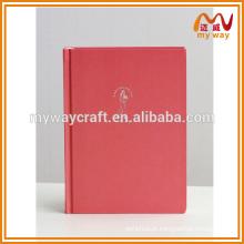 Caderno da escola de impressão a cores com marcador, caderno de composição