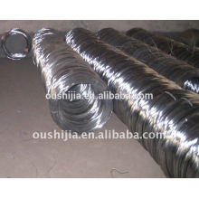 Galvanized annealed banding wire