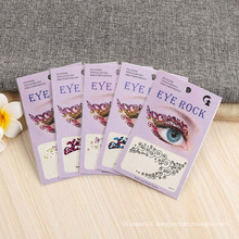 Eye Tattoo Sticker Non-Toxic Paper Water Transfer Face Temporary Tattoo Sticker