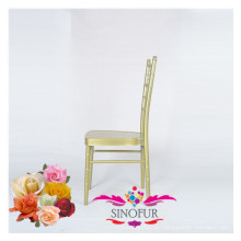 Outdoor-Hochzeitsstuhl Aluminium Tiffany Stuhl