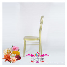outdoor wedding chair aluminium tiffany chair