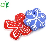 Aprovado pela FDA Natal Silicone Baby Teether Toy