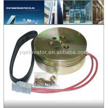 Elevador freno magnético, elevador freno de máquina, elevador sin engranaje máquina frenos