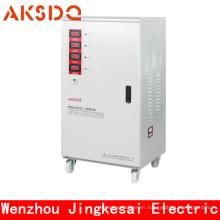 Estabilizador automático del voltaje de la energía completa trifásica (SVC 3KVA ~ 20KVA)