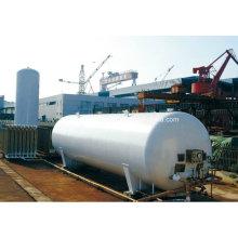 100m3 Lox / Lin / Lar Industrie Gas Cryogenic Speicher Tank Flüssig Sauerstoff / Stickstoff / Argon Gas Tank ...