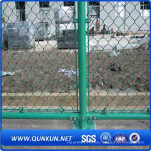PVC Coated Diamond Chain Link Fence on Sale