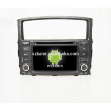 """7 """"lecteur dvd de voiture, usine directement! Quad core, GPS, radio, bluetooth pour Mitsubishi Pajero"""