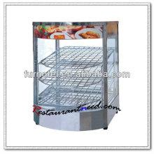 K099 TableTop électrique vitrine d'aliments chauds